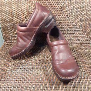 b.o.c. Born Concept 'Peggy' clog leather shoes 8M